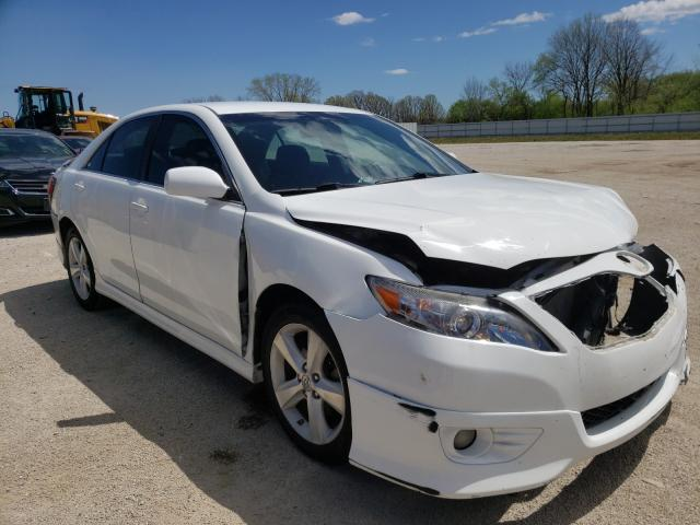 Salvage cars for sale from Copart Milwaukee, WI: 2010 Toyota Camry Base