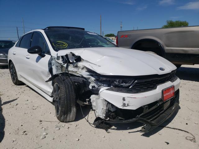 Vehiculos salvage en venta de Copart Haslet, TX: 2021 KIA K5 GT Line