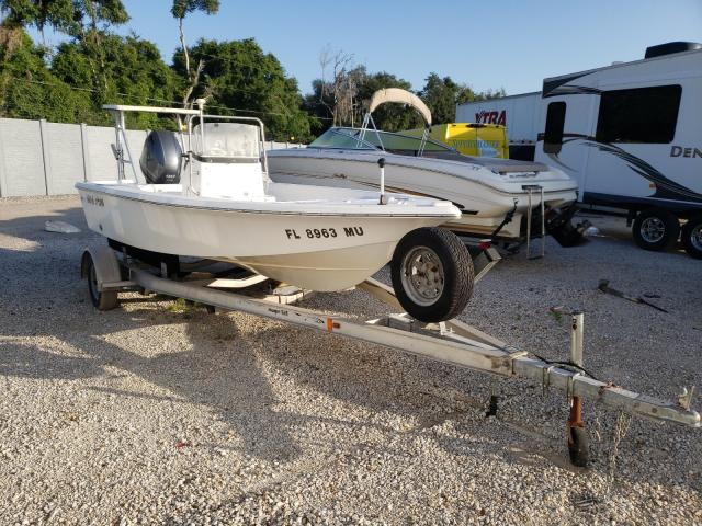 Sea Pro salvage cars for sale: 2005 Sea Pro Boat With Trailer