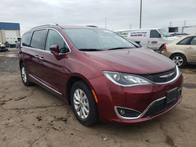 Salvage cars for sale from Copart Woodhaven, MI: 2019 Chrysler Pacifica T