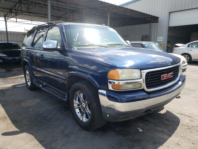 Salvage cars for sale from Copart Orlando, FL: 2002 GMC Yukon