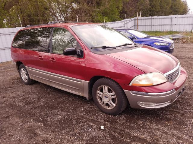 Salvage cars for sale from Copart London, ON: 2003 Ford Windstar S