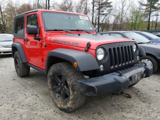 Salvage cars for sale from Copart Candia, NH: 2017 Jeep Wrangler S
