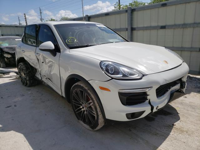 Salvage cars for sale from Copart Homestead, FL: 2016 Porsche Cayenne