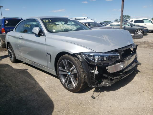 Salvage cars for sale from Copart Indianapolis, IN: 2020 BMW 430XI