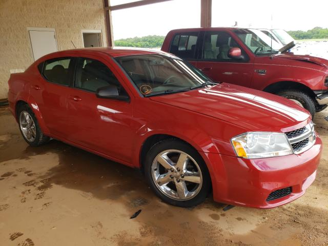Salvage cars for sale from Copart Tanner, AL: 2013 Dodge Avenger SE