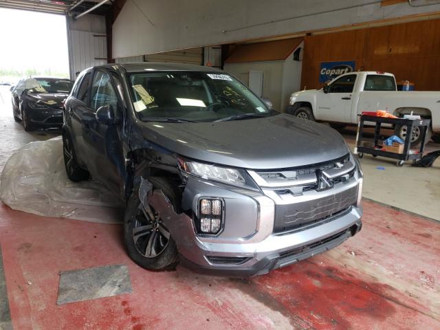 Salvage cars for sale at Angola, NY auction: 2021 Mitsubishi Outlander