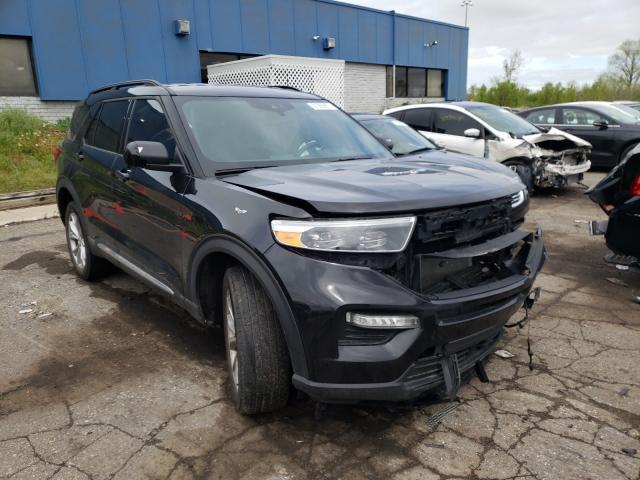 Vehiculos salvage en venta de Copart Woodhaven, MI: 2020 Ford Explorer X