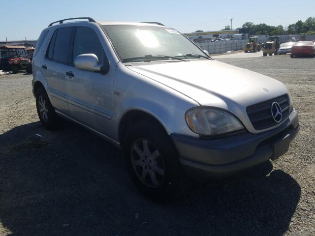 Salvage cars for sale from Copart Antelope, CA: 2000 Mercedes-Benz ML 430