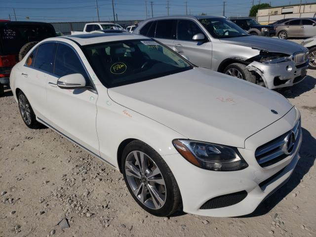 Salvage cars for sale from Copart Haslet, TX: 2018 Mercedes-Benz C300