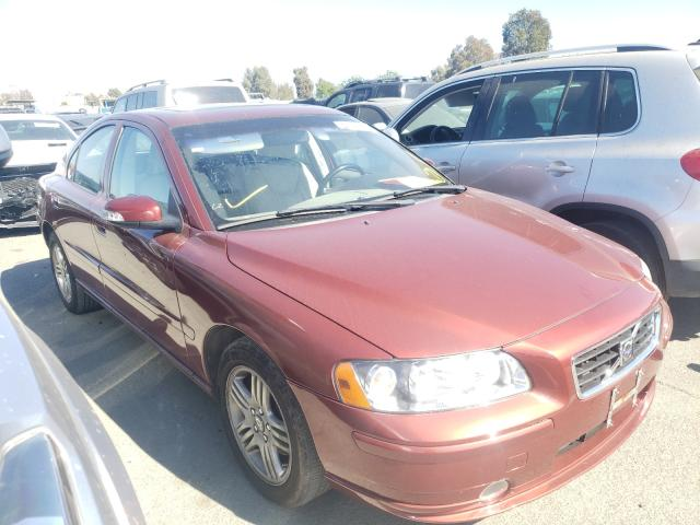 Salvage cars for sale from Copart Martinez, CA: 2008 Volvo S60 2.5T