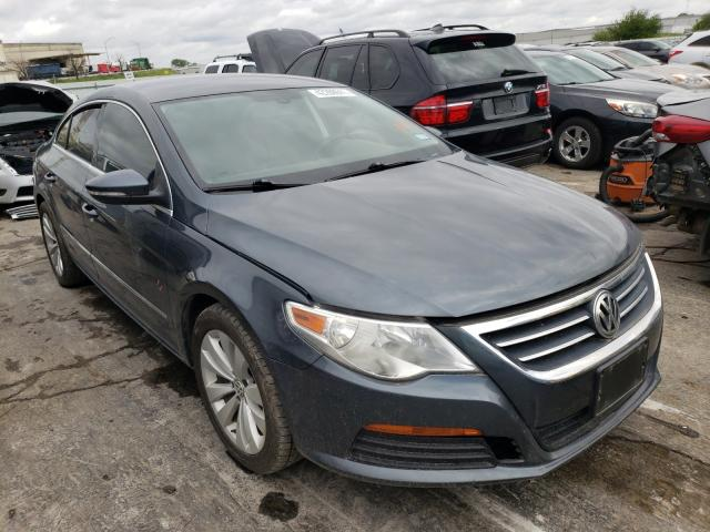 Salvage cars for sale from Copart Tulsa, OK: 2012 Volkswagen CC Sport