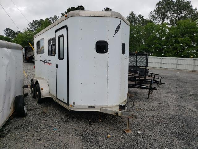 Featherlite Mfg Inc Horse Trailer salvage cars for sale: 2001 Featherlite Mfg Inc Horse Trailer
