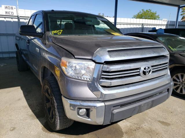 Salvage cars for sale from Copart Martinez, CA: 2016 Toyota Tundra DOU