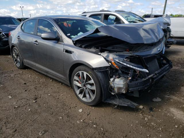 Salvage cars for sale from Copart Indianapolis, IN: 2014 KIA Optima SX
