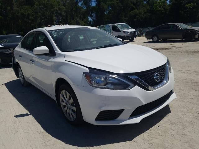 Salvage cars for sale from Copart Ocala, FL: 2019 Nissan Sentra S