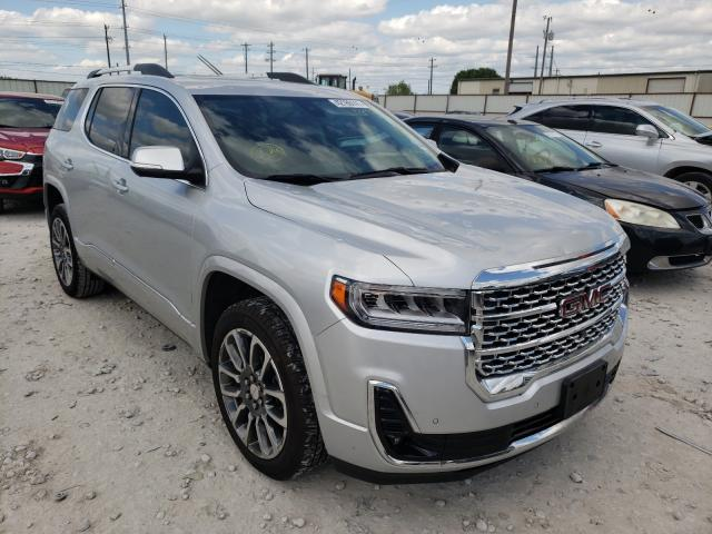 Salvage cars for sale from Copart Haslet, TX: 2020 GMC Acadia DEN