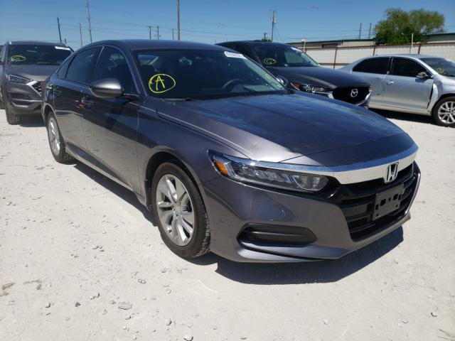 Salvage cars for sale from Copart Haslet, TX: 2020 Honda Accord LX