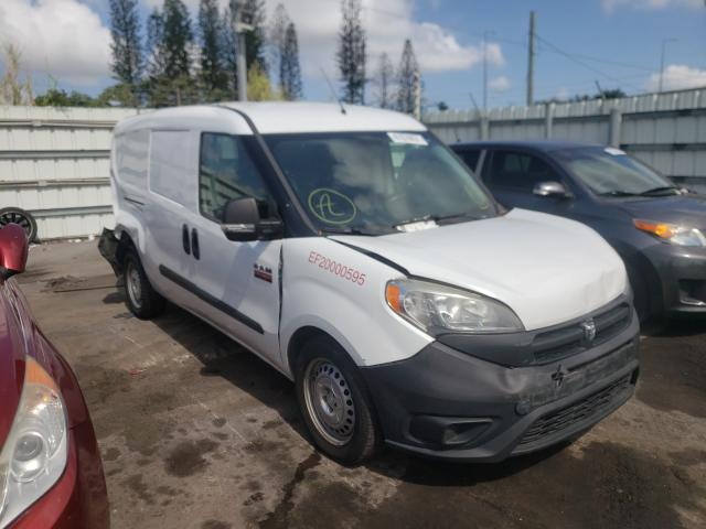 Salvage cars for sale from Copart Miami, FL: 2016 Dodge RAM Promaster
