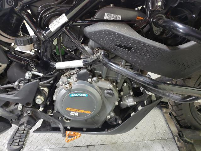 2020 KTM 390 ADVENT - Left Rear View