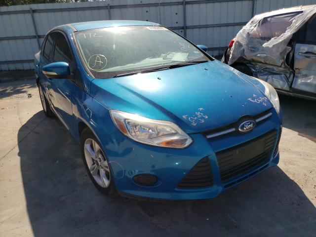 Salvage cars for sale from Copart Corpus Christi, TX: 2014 Ford Focus SE