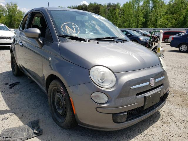 Salvage cars for sale from Copart Fredericksburg, VA: 2012 Fiat 500 POP