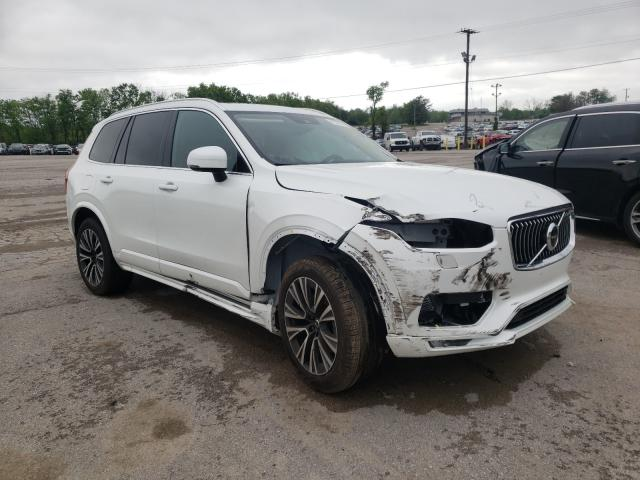 Salvage cars for sale from Copart Lexington, KY: 2021 Volvo XC90 T5 MO