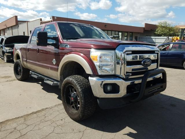 Salvage cars for sale from Copart Fort Wayne, IN: 2011 Ford F350 Super