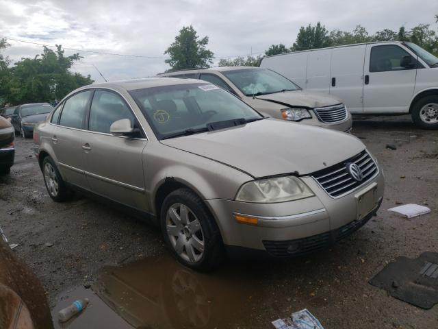 Salvage cars for sale from Copart Baltimore, MD: 2005 Volkswagen Passat GLS