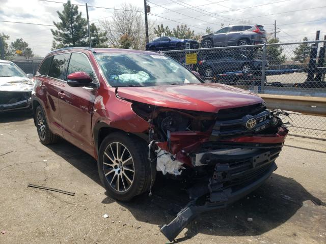 Salvage cars for sale from Copart Denver, CO: 2017 Toyota Highlander