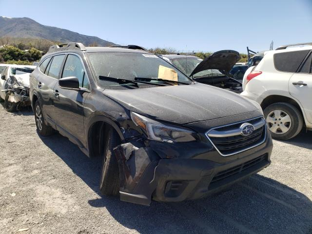 Salvage cars for sale from Copart Reno, NV: 2020 Subaru Outback