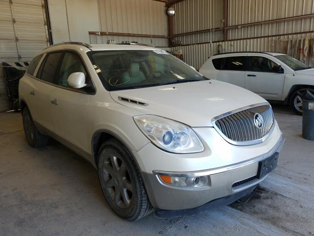Salvage cars for sale from Copart Abilene, TX: 2010 Buick Enclave CX