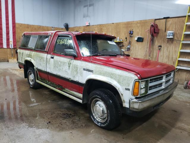 Salvage cars for sale from Copart Kincheloe, MI: 1989 Dodge Dakota