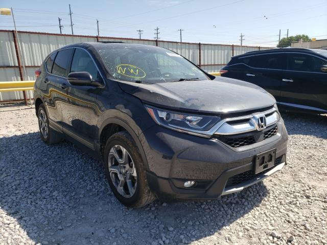 Salvage cars for sale from Copart Haslet, TX: 2018 Honda CR-V EXL