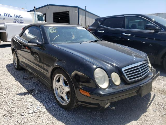 Salvage cars for sale from Copart Hueytown, AL: 2000 Mercedes-Benz CLK 430