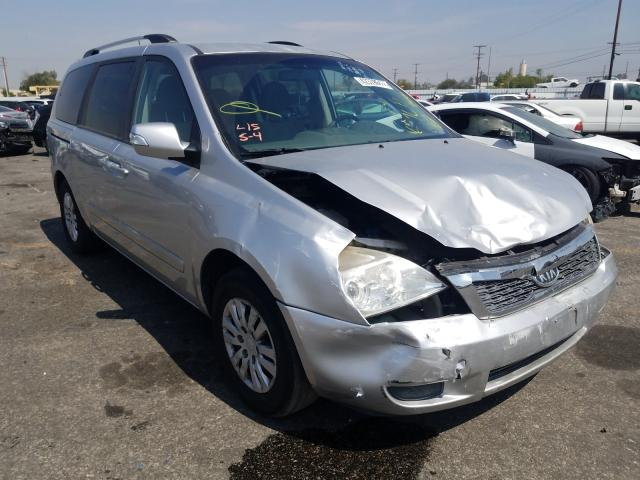 KIA salvage cars for sale: 2012 KIA Sedona LX