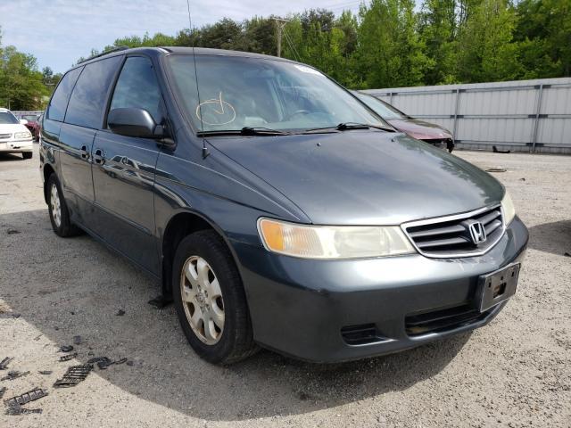 Salvage cars for sale from Copart Fredericksburg, VA: 2004 Honda Odyssey EX