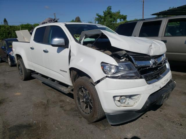 Salvage cars for sale from Copart San Martin, CA: 2017 Chevrolet Colorado L
