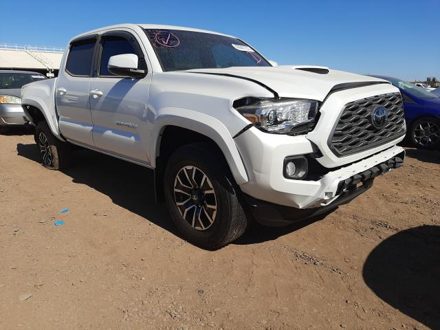Salvage cars for sale from Copart Phoenix, AZ: 2021 Toyota Tacoma DOU
