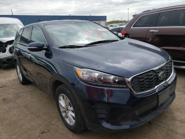 Salvage cars for sale from Copart Woodhaven, MI: 2019 KIA Sorento LX