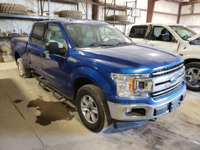 Salvage cars for sale from Copart Eldridge, IA: 2018 Ford F150 Super