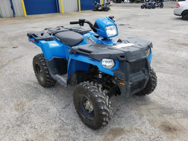 Salvage cars for sale from Copart Ellwood City, PA: 2018 Polaris Sportsman