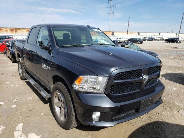 Salvage cars for sale from Copart Columbus, OH: 2017 Dodge RAM 1500 ST