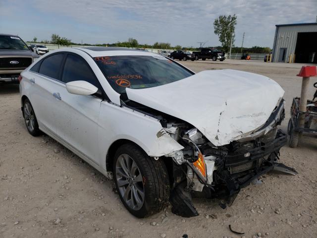 Salvage cars for sale from Copart Kansas City, KS: 2013 Hyundai Sonata SE