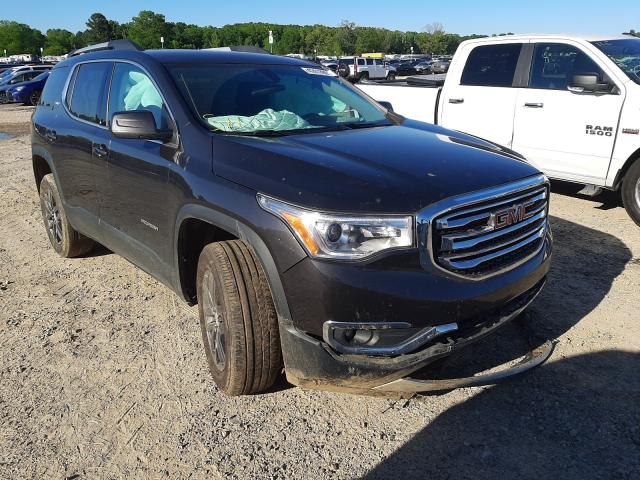 Salvage cars for sale at Conway, AR auction: 2017 GMC Acadia SLT