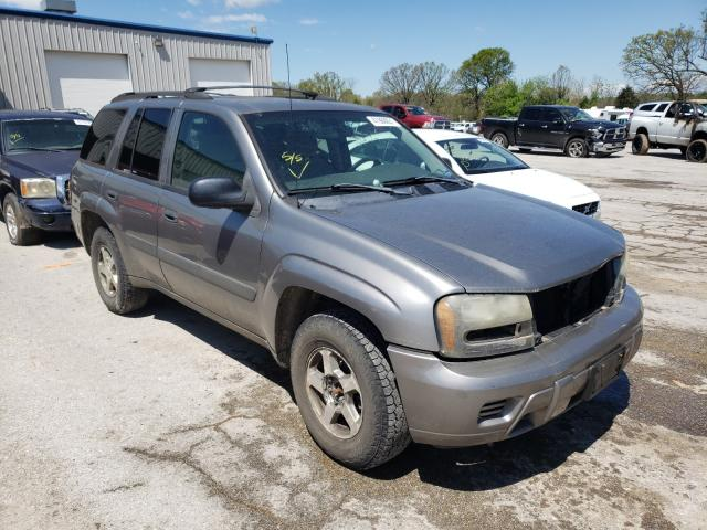 Salvage cars for sale at Rogersville, MO auction: 2005 Chevrolet Trailblazer