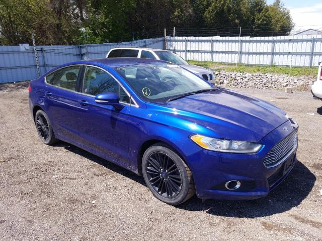 Salvage cars for sale from Copart London, ON: 2014 Ford Fusion SE