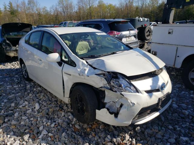 Salvage cars for sale from Copart Candia, NH: 2014 Toyota Prius