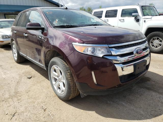 Salvage cars for sale from Copart Pekin, IL: 2011 Ford Edge SEL