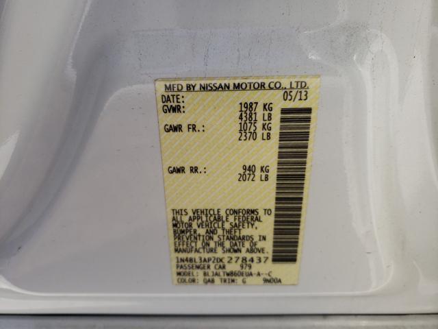 2013 NISSAN ALTIMA 3.5 1N4BL3AP2DC278437